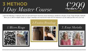 best hair extension method hair extension courses dates academy academy