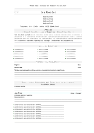 Best Resume It Professional by Free Resume Templates Outline Word Professional Template With