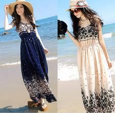 buy womens summer dresses 2015 fashion floral chiffon sleeveless