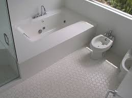 cosy white mosaic bathroom floor tile about home decoration