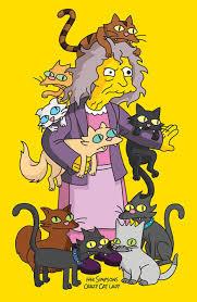Halloween Costumes Simpsons Diy Simpsons Crazy Cat Lady Costume Maskerix