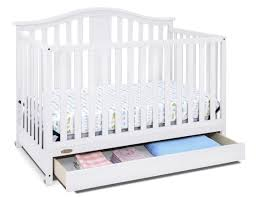 Graco Convertible Crib Bed Rail by Graco Graco Solano 4 In 1 Convertible Crib With Drawer White