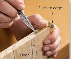 How To Hang A Cabinet Door Wall Cabinet Of Maple How To Install Knife Hinges Popular
