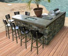 L Shaped Outdoor Kitchen by Outdoor Kitchen Bar U0026 Patio Cover Our Little Piece Of Paradise