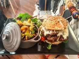 cuisine bio burger bio légumes du marché picture of polly and cie