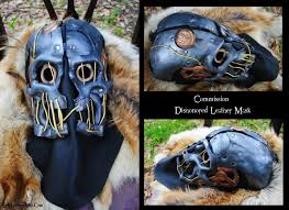 Dishonored Mask Commission Leather Dishonored Mask By Epic Leather On Deviantart