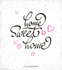 home sweet home decorations lettering typography poster calligraphic quote home sweet home for