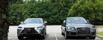 lexus vs audi lexus nx200t vs audi q5 which one trips your trigger more as a
