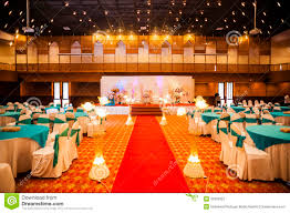 wedding hall decoration stock photography image 35933352