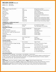 Acting Resume Sample Beginner Federal Resume Examples Jobstar Guide Template For Templates