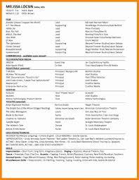 beginner resume examples resume for beginners makeup artist resume sample musical theater writing resumes for beginners sainde org