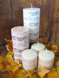 create plain candles into stunning christmas candles diy