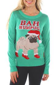 pug sweater s bah humpug sweater tipsy elves