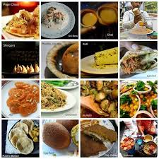 different indian cuisines what are the cheap food options of different states cities in india