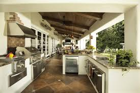 exterior design kitchen cabinets in cool tropical patio ideas