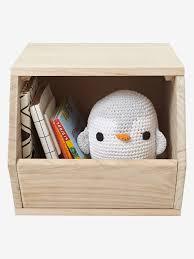 aufbewahrungsbox kinderzimmer vertbaudet holz aufbewahrungsbox für spielzeug in natur