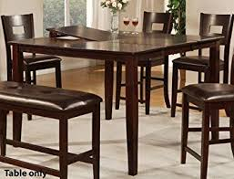 counter height dining table with leaf lovely ideas counter height dining table with leaf pretty amazoncom