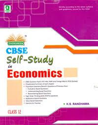 evergreen cbse self study in economics class 12 price in india