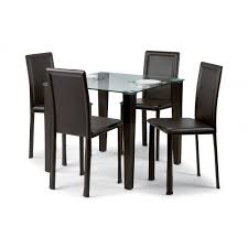 Square Dining Room Table For 4 Black Dining Room Chairs Set Of 4 Alliancemv Com