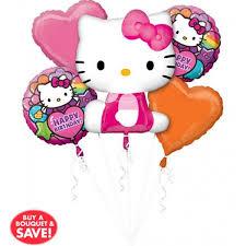 helium balloon delivery in selangor happy birthday rainbow hello balloon bouquet 5pc from