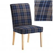 henriksdal rutna multicolor blue plaid chair slipcover cover 21