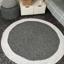 Modern Round Rugs by Large Pink Round Rug Looping Home