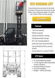 Scissor Lift Hunting Blind Innovative Equipment Llc Scissor Lift Mini Excvator