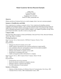 Examples Of A Customer Service Resume Examples Of Resumes Resume Template What To Write As An