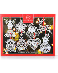last minute deals on lenox sparkle scroll ornaments