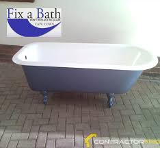Bathtub Re Enamel Bath Recoat In Cape Town Contractorfind Co Za
