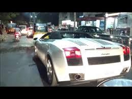 lamborghini car owners in chennai lamborghini gallardo spotted in chennai awesome sound exhaust