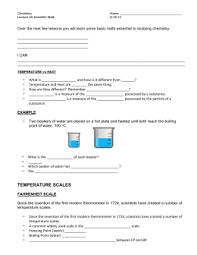 skill sheet 25 2 temperature scales