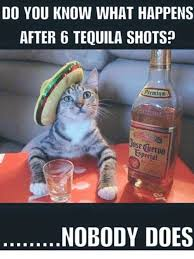 Funny Tequila Memes - do you know what happens after 6 tequila shots prtmium special