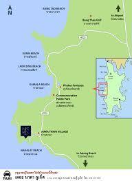Phuket Map Map