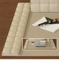Burgundy Desk Pad Quality Leather Desk Pad French Vintage 1950s Office Burgundy