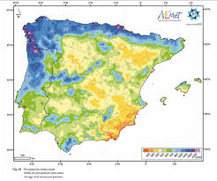 World Climate Map by Iberian U0027s Climate Maps Warm Records Temperatures Rainfall