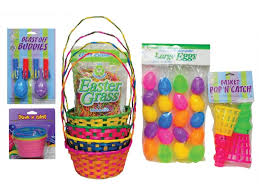 pre made easter baskets easter basket kits deluxe diy fast easy creations
