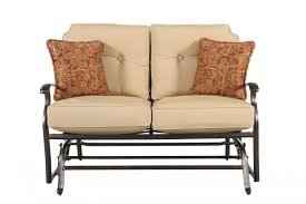 Loveseat Glider Agio Heritage Select Gliding Loveseat Mathis Brothers Furniture