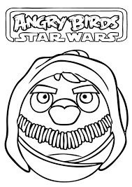drawing angry birds star wars colouring happy colouring