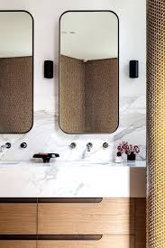 Flat Bathroom Mirrors Flat Bathroom Mirrors Contemporary Design Meets Mid Century Flavor