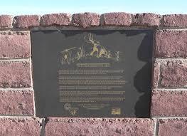 am agement d un bureau file lehner mammoth kill site plaque 1 jpg wikimedia commons