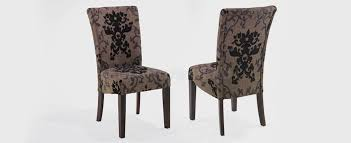 What Kind Of Fabric For Dining Room Chairs Dining Room Contemporary Dining Chairs In Brown Motif Theme Made