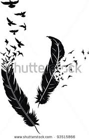 bird feather tattoo tattoo collections
