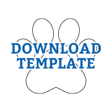 paw print template paw prints puppy pride the best home for those into pet play