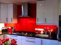 Houzz Kitchens Backsplashes Bathroom Picturesque Orangetiles Red Kitchen Backsplash Ideas