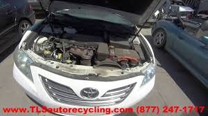 parting out 2008 toyota camry stock 6183yl tls auto recycling