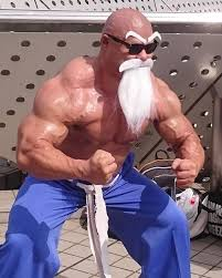Buff Guy Meme - so everyone s seen the buff master roshi cosplay but the guy who