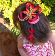hair ribbon 30 and easy to make hair bows diy projects