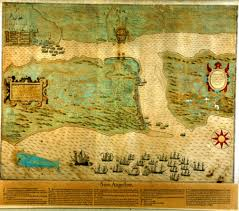 thanksgiving in st augustine sir francis drake map