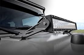 jeep jk light bar brackets 20in dual row single row led light bar hood mounts for 07 16 jeep